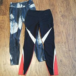 Bundle Nike Legend and twist training pants medium